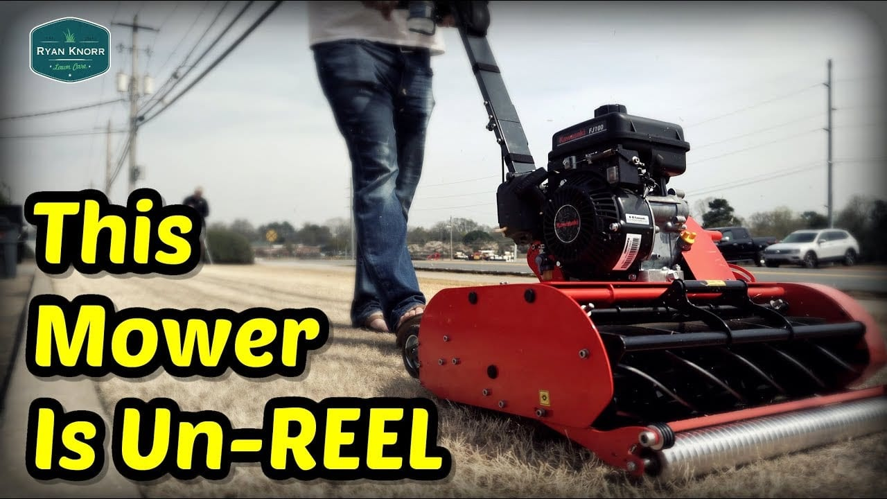 This Mower is Un-REEL